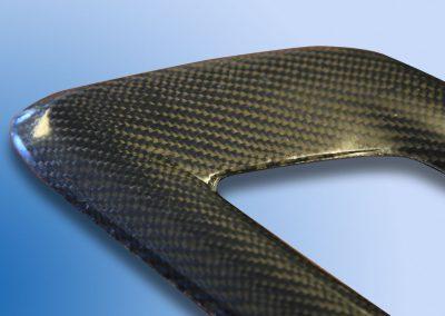 Carbon fibre moulded