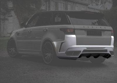 Range Rover rear bumper