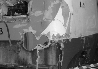 Locomotive damage