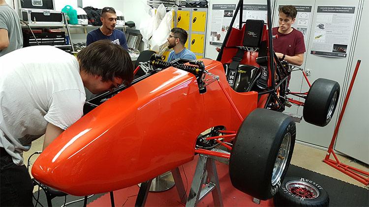 GRP Carbon Fibre Formula Car